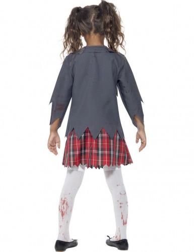 Halloween Zombie Schülerinnen-Verkleidung für Mädchen-2