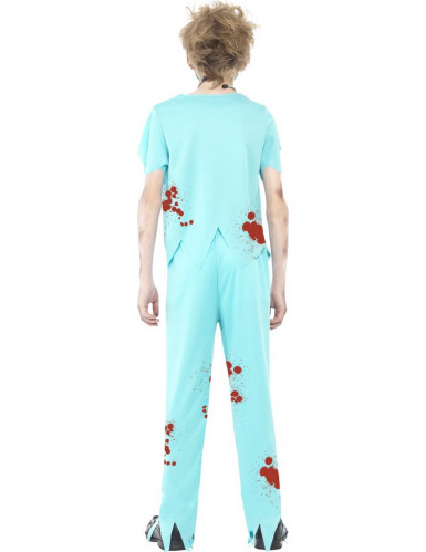 Zombie-Doktor Halloween Kostüm für Kinder-2