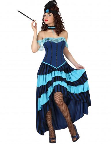 Cancan Kostüm 20er Jahre für Damen