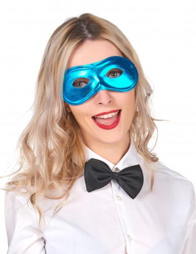 Karneval Augenmaske blau für Erwachsene