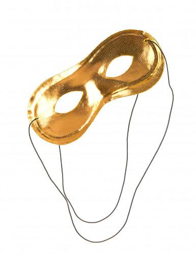 Karneval Augenmaske gold für Erwachsene-1