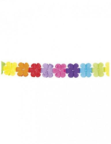 Girlande aus Plastik Blumenform 4 Meter