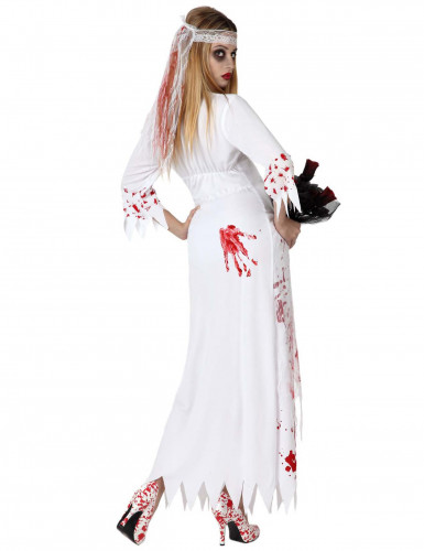 Halloween Blutende Braut Kostüm für Damen-1