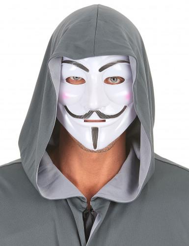 Anonymus Maske für Erwachsene