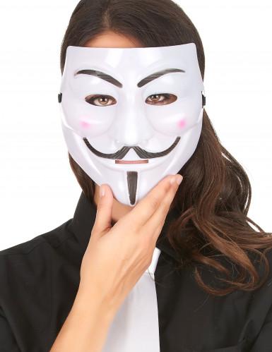 Anonymus Maske für Erwachsene-1