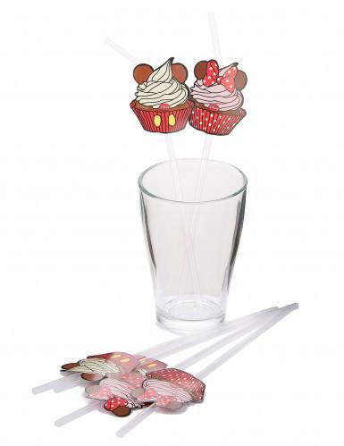 6 Minnie Maus™ Strohhalme-1
