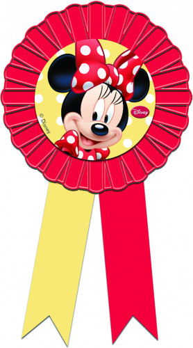 Medaille mit Schleifen Minnie Maus™