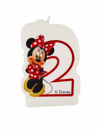 Minnie Café™ Kerze - Zahl 2 - Disney™