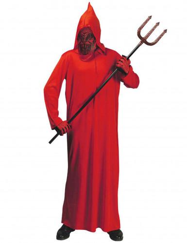 Rotes Dämonen-Kostüm für Jungen Halloween