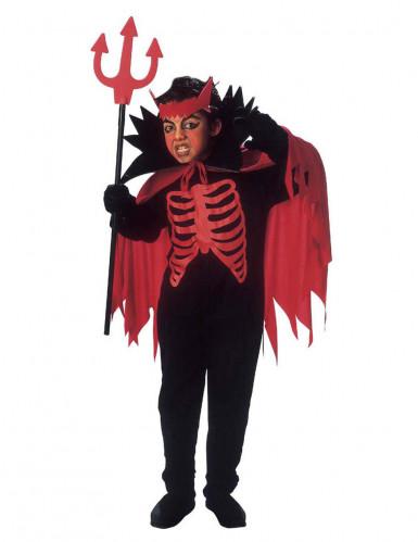 Halloween roter Teufel Kostüm für Jungen