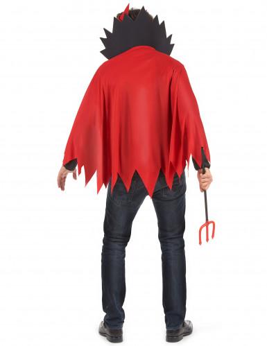 Teufels-Kostüm rot für Herren Halloween-2