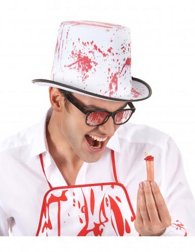Blutbefleckter Hut für Erwachsene-1