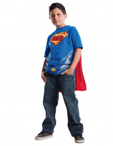 T-Shirt und Umhang Superman Man of Steel™ für Kinder