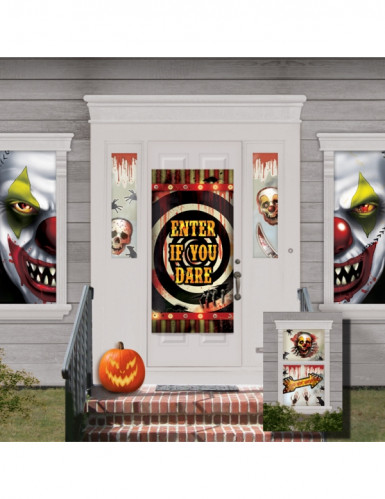 33-teilige Halloween-Hausdekoration