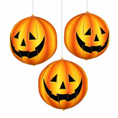 3 Halloween Lampions