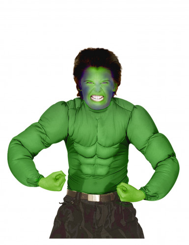 Grünes Oberteil mit Muskeln für Kinder