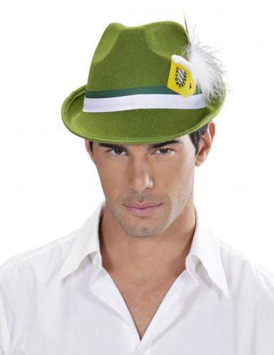 Grüner Bayern-Hut für Erwachsene