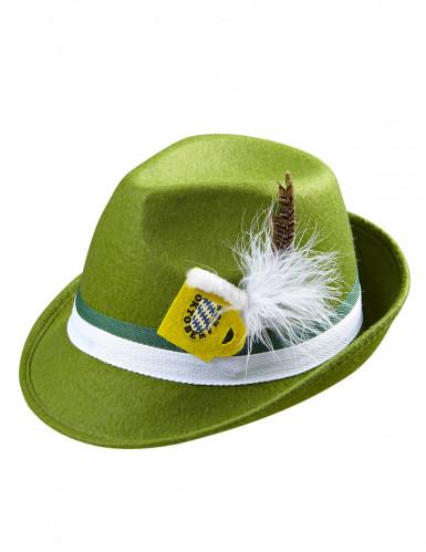 Grüner Bayern-Hut für Erwachsene-1