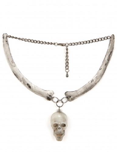 Skelett-Kette für Erwachsene Halloween