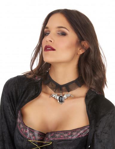 Fledermaus-Halsband für Erwachsene Halloween-1