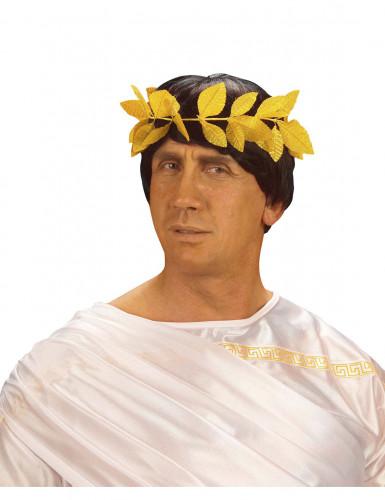 Römer-Lorbeerkranz für Erwachsene goldfarben