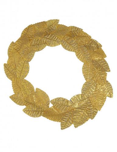 Römer-Lorbeerkranz für Erwachsene goldfarben-1