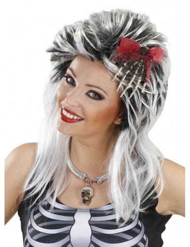 Halloween Skelett-Hand Haarschmuck