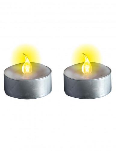 Leuchtende Kerzen mit Batterie