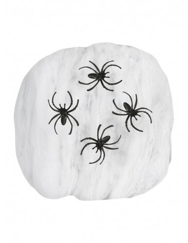 Falsches Halloween Spinnennetz -1