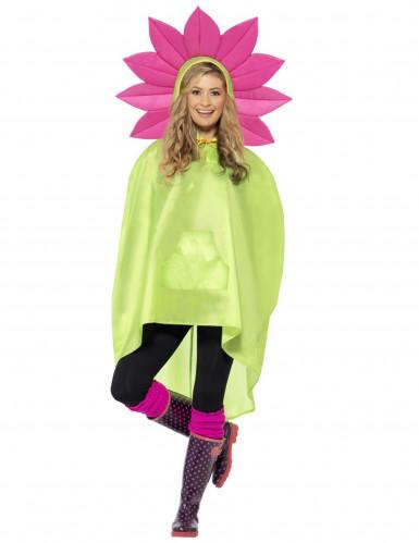 Blumen-Poncho für Erwachsene