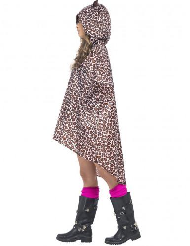 Leoparden-Poncho für Erwachsene-1