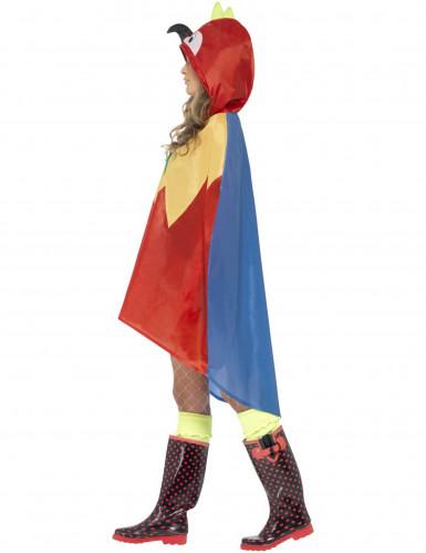 Papagei-Poncho für Erwachsene-1