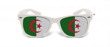 Witzige Fan Brille Algerien