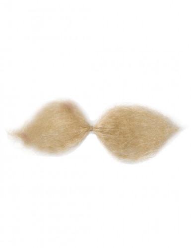 Blonder Gallier Schnurrbart für Erwachsene-1