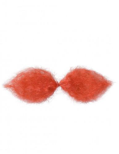 Gallier Schnurrbart rot für Erwachsene-1