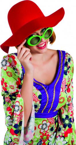 Sommer Hut rot für Damen