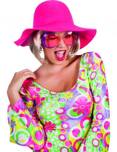 Sommer Hut rosa für Damen