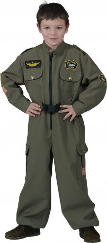 Air Force Pilotenkostüm für Jungen