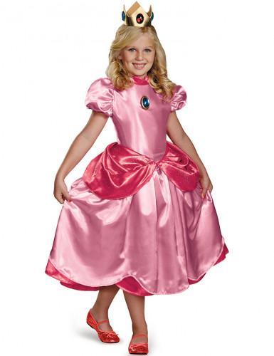 Deluxe Prinzessin Peach™Kostüm für Mädchen
