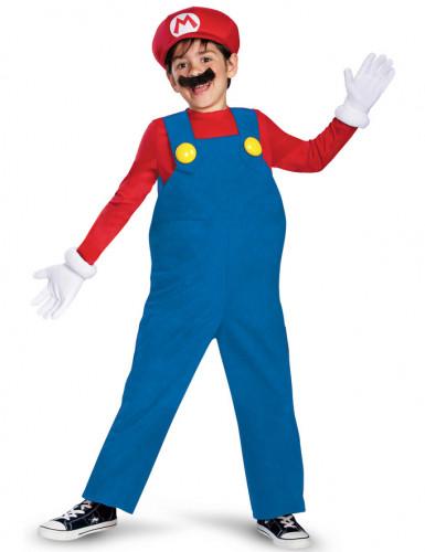 Kostüm Mario™ für Kinder 5-teilige Deluxe Ausführung