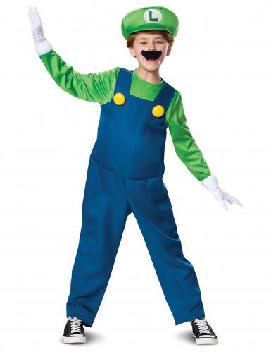 Kostüm Luigi für Kinder - hochwertig 140/146 (10-12 Jahre) 4SVKE442