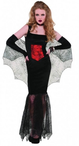 Halloween-Vampir-Kostüm Frau