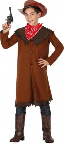 Braunes Cowboy Kostüm für Jungen