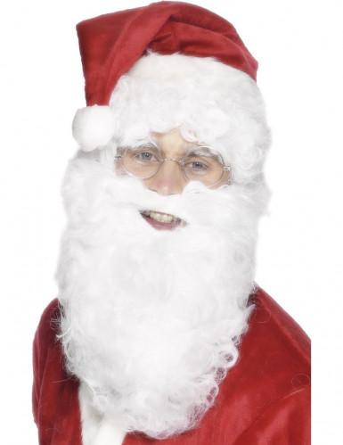 Weihnachtsmann Bart 28cm lang für Erwachsene