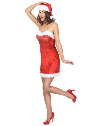 Sexy Miss Santa Kostüm für Damen-1