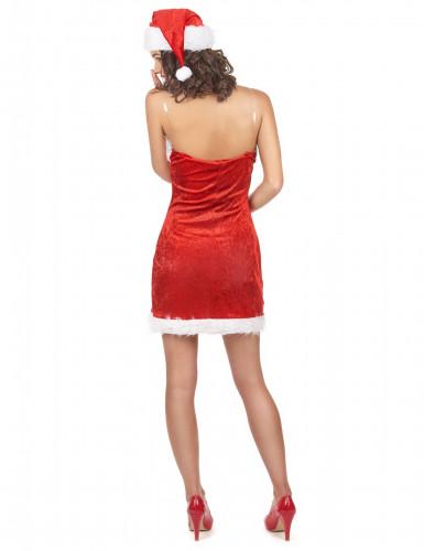 Sexy Miss Santa Kostüm für Damen-2