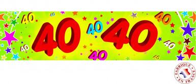 Banner - 40 Jahre