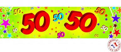 Banner - 50 Jahre