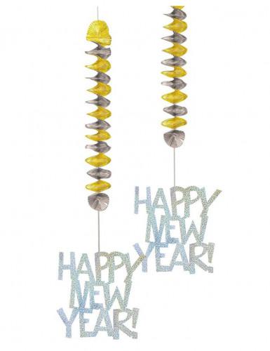 Hängedeko Silvester Happy New Year