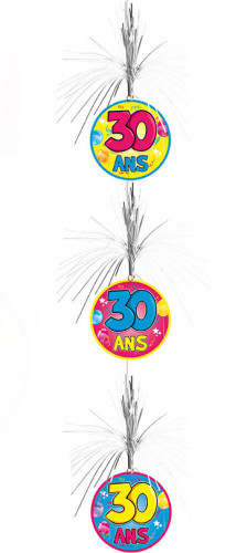 Kaskade-Girlande zum 30. Geburtstag